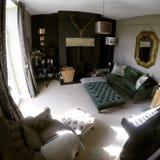 Żywy izbowy projekt Zdjęcia Stock