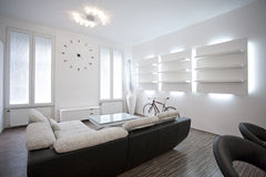Żywy izbowy wewnętrzny projekt Zdjęcie Royalty Free