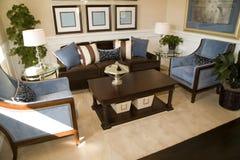 żywy luksusowy pokój Fotografia Royalty Free
