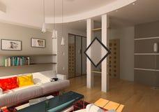 żywy pokój zdjęcia stock