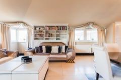 Żywy pokój w baroku domu Zdjęcie Royalty Free
