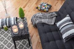 Żywy pokój dla relaksu Zdjęcie Stock