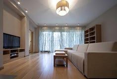 żywy projektanta pokój Fotografia Stock