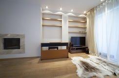 żywy projektanta pokój zdjęcie royalty free
