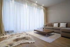 żywy projektanta pokój Fotografia Royalty Free