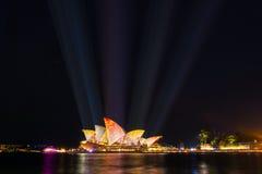 Żywy Sydney 2016 Obraz Royalty Free