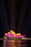 Żywy Sydney 2016 Obrazy Royalty Free