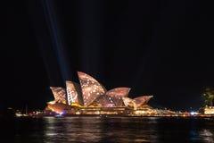 Żywy Sydney 2016 Fotografia Royalty Free
