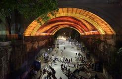Żywy Sydney - życiowa historia przy Argyle zdjęcia royalty free