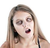 Żywy trup dziewczyna Obraz Stock