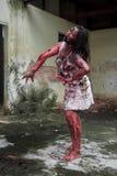 Żywy trup dziewczyna Fotografia Stock