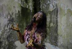 Żywy trup dziewczyna Zdjęcia Royalty Free