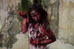 Żywy trup dziewczyna Zdjęcie Stock