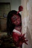 Żywy trup dziewczyna Zdjęcie Royalty Free