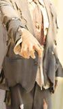 Żywy trup ręka. Obraz Royalty Free