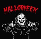 Żywy trup szczęśliwy Halloween Zdjęcie Royalty Free