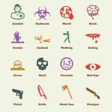 Żywych trupów elementy Zdjęcie Royalty Free