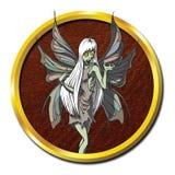 Żywych trupów Undead Mityczna Czarodziejska istota royalty ilustracja