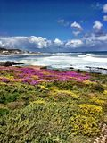 Yzerfontein South Africa. Beautiful sea, cloud and Royalty Free Stock Image