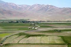 żyzne doliny Zdjęcie Royalty Free