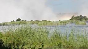 Zâmbia de Victoria Falls Zambezi River Foto de Stock Royalty Free
