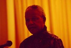 ZÃ-¼ Reichstadt: Nelson Mandela-` s Rede als Präsident beim Dolder stockfotografie