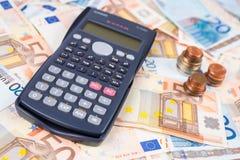 Zählen Sie das Geld Lizenzfreies Stockfoto