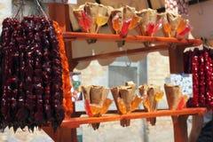 Zähler mit orientalischen Bonbons Lizenzfreies Stockbild