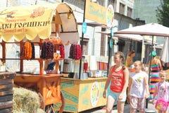 Zähler mit orientalischen Bonbons Lizenzfreie Stockbilder