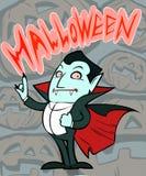 Zählimpuls Dracula lizenzfreie abbildung