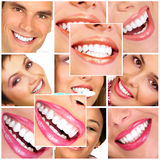 Zähne lizenzfreie stockbilder