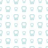 Zähne auf weißem Hintergrund Stockfotografie