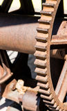 Zähne von altem Rusty Gear Stockbilder