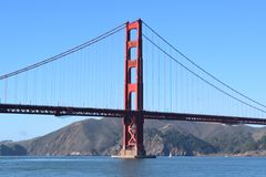 Złoci Wrota Most, San Fransisco, CA zdjęcie royalty free