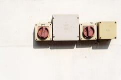 Zócalos eléctricos del mercado imágenes de archivo libres de regalías