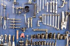 Zócalos para la reparación del motor Imagen de archivo libre de regalías