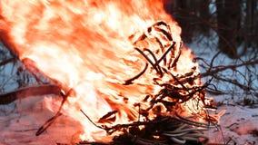 Zündungsdraht im Feuer Lizenzfreies Stockfoto