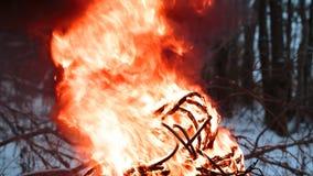 Zündungsdraht im Feuer Lizenzfreie Stockfotos