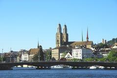 Zürich Royaltyfri Fotografi