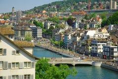 Zürich Lizenzfreies Stockbild