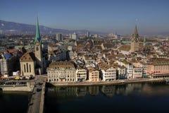 Zürich-Antenne 01, die Schweiz Lizenzfreie Stockbilder