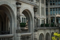 Zürich-Architektur Lizenzfreies Stockbild
