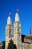 Zürich Charles Tower Stock Afbeeldingen