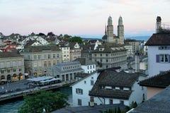 Zürich city in Switzerland stock photo