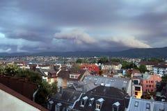 Zürich-Dächer Lizenzfreies Stockbild