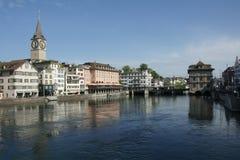 Zürich, die Schweiz Lizenzfreie Stockfotos