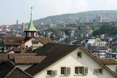 Zürich, die Schweiz Stockfotografie