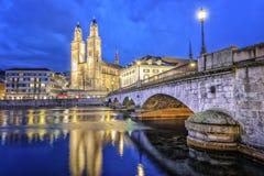 Zürich, die Schweiz Lizenzfreie Stockfotografie