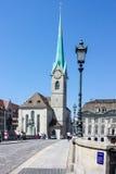 Zürich die Schweiz Lizenzfreie Stockfotos