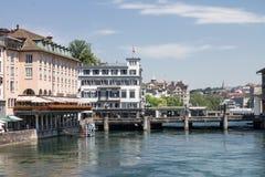 Zürich die Schweiz Lizenzfreies Stockbild